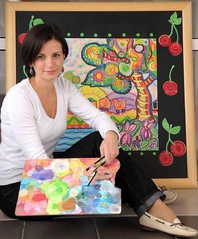 Mira Kovačević samostalna umjetnica