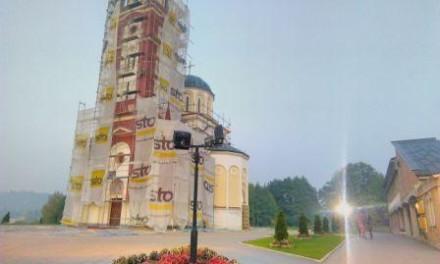 """Gradonačelnik Istočnog Sarajeva ugostio predstavnike Bratstva Hrama """"Svetog Vasilija Ostroškog"""" na Veljinama"""
