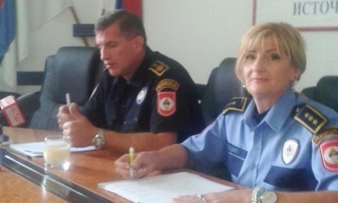 U Istočnom Sarajevu rasvijetljenost krivičnih djela 84,44%