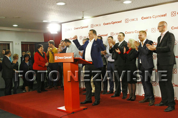 Izjava predsjednika SNSD-a Milorada Dodika