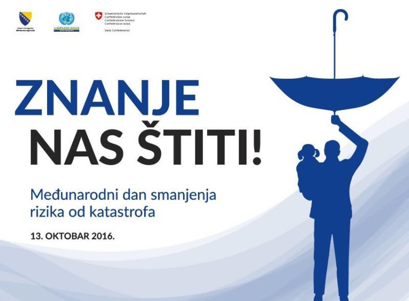 Sajam znanja, Trg BiH od 11:00 u četvrtak 13. oktobra