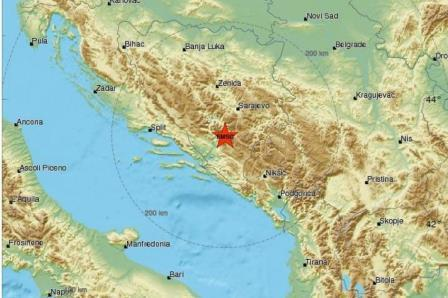 Zemljotres od 4,3 stepena na jugu BiH