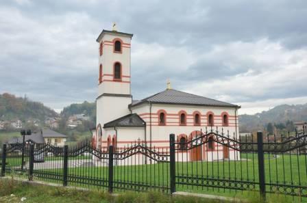 U toku su radovi na uređenju crkve Svetog Đorđa u naselju Vraca