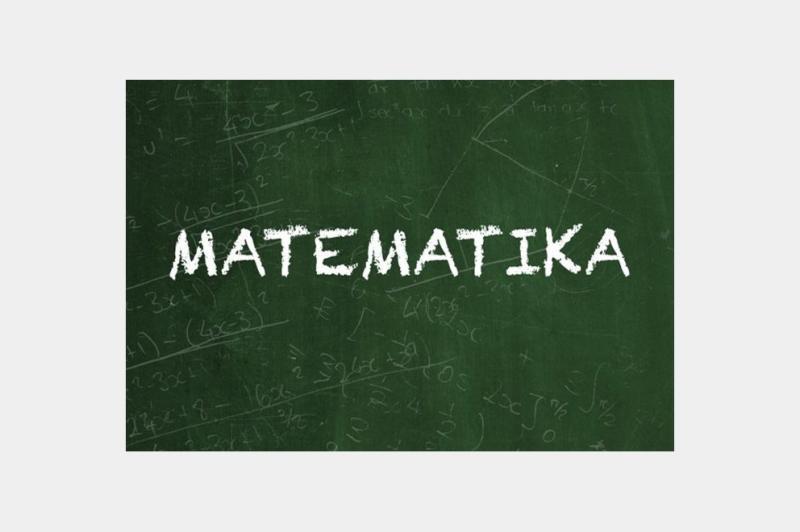 Dajem instrukcije iz Matematike