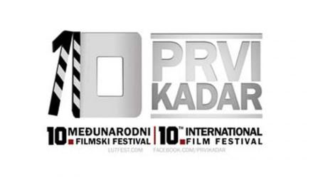"""Ove godine Međunarodni filmski festival """"Prvi kadar"""" slavi jubilarni 10. rođendan"""