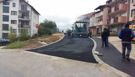 Završavaju se radovi na izgradnji djela saobraćajnice ul. Cara Dušana