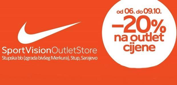 Prisustvujte otvaranju novog Sport Vision Outlet Store centra
