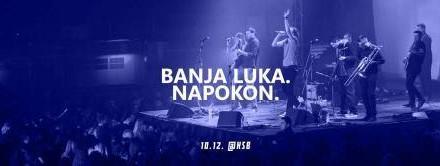 """Srbijanski sastav """"Ničim izazvan""""  10.decembra u banjalučkom KSB-u"""