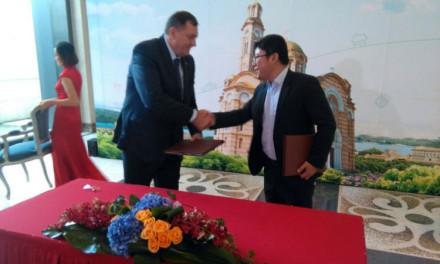 """Sa kompanijom """"Huavej"""" potpisan sporazum o partnerstvu"""