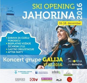 Ski Opening Jahorina 2016/17