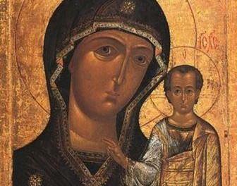 U nedelju je u Sabornu crkvu u Nišu donešena replika Ikone Bogorodice