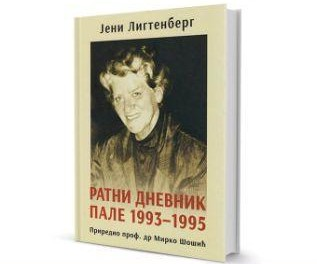 "Promocija knjige ""Ratni dnevnik Pale 1993-199"" Jeni Ligtenberg,"