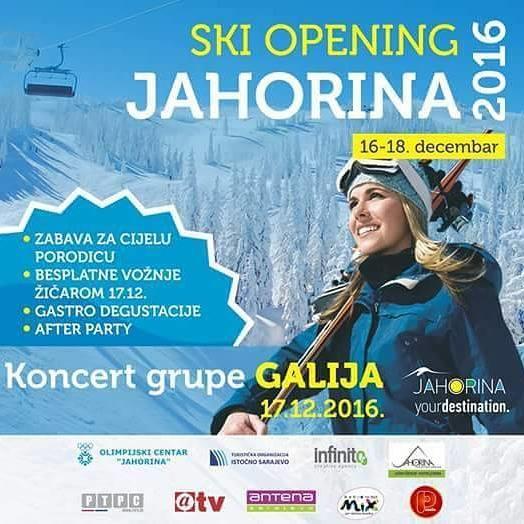 Turistička sezona na Jahorini biće svečano otvorena u subotu, 17. decembra