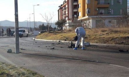 Podgorica: U eksploziji vozila jedna osoba smrtno stradala