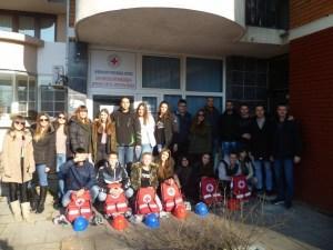 Prvo mjesto ekipe podmlatka Opštinskog odbora Crvenog krsta Istočna Ilidža