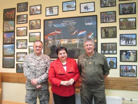 Intervju sa gospođom Dušankom Majkić o ženama u sektoru sigurnosti i odbrane BiH
