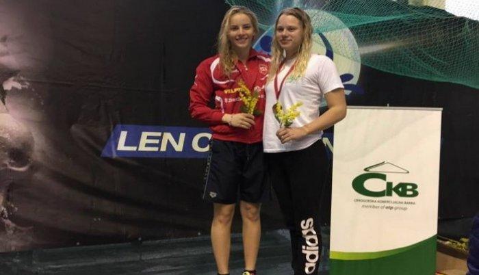 Amina Kajtaz osvojila prvo mjesto u disciplini 50m prsno i oborila rekord Mimoza kupa