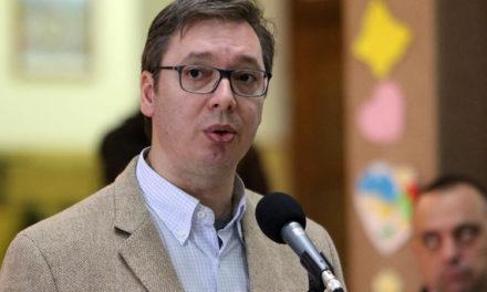 """Vučić razgovaro sa Dodikom: """"Do srede sa vlašću i opozicijom u Srpskoj o reviziji tužbe"""""""