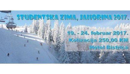 """Počinje """"Studentska zima – Jahorina 2017"""""""