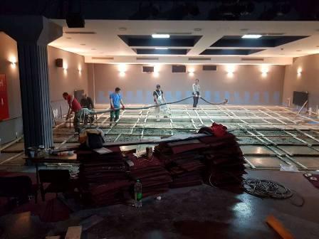 Počela rekonstrukcija sale Kulturnog centra Istočno Novo Sarajevo