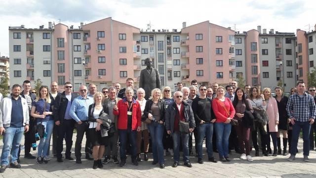 Učesnici naučno-stručnog simpozijuma posjetili spomenik Gavrilu Principu