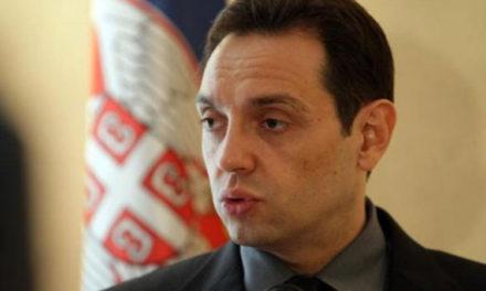 Vulin zabrinut za Vučićevu bezbjednost u Sarajevu