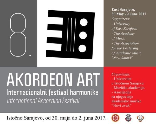"Osmi internacionalni festival harmonike ""Akordeon art"" Istočno Sarajevo"