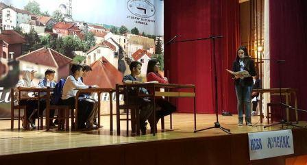 """Učenici Osnovne škole """"Jovan Dučić"""" pozivaju vas na Forum teatar predstavu,"""