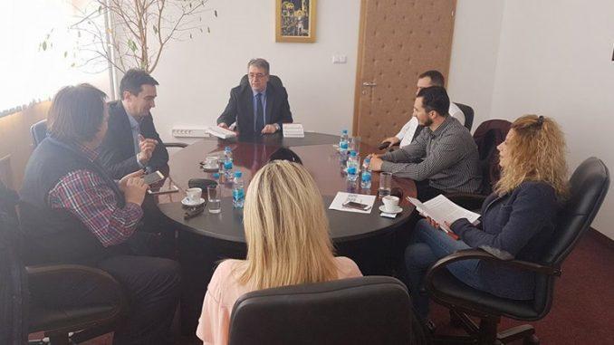 Delegacija Univerziteta iz Skoplja posjetila Rektorat UIS-a