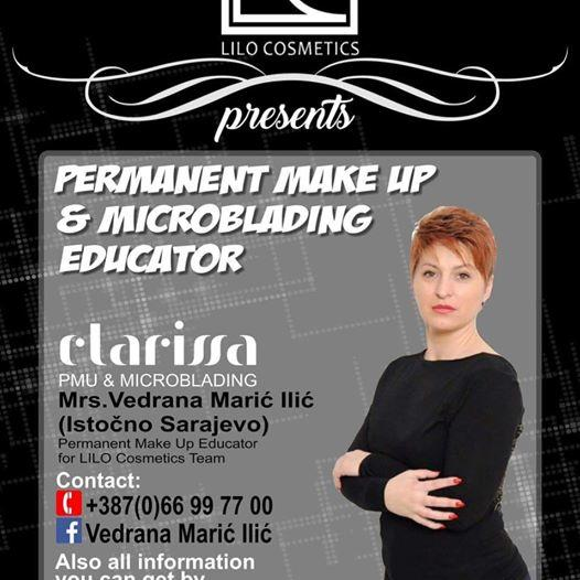 Vedrana Marić Ilić permanent make up & microblading educator