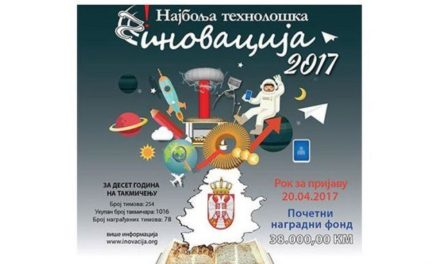 Prijave za takmičenje za Najbolјu tehnološku inovaciju do 20. aprila