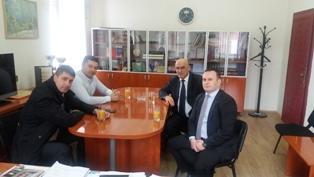 Načelnik Ćosić u radnoj posjeti opštini Trnovo