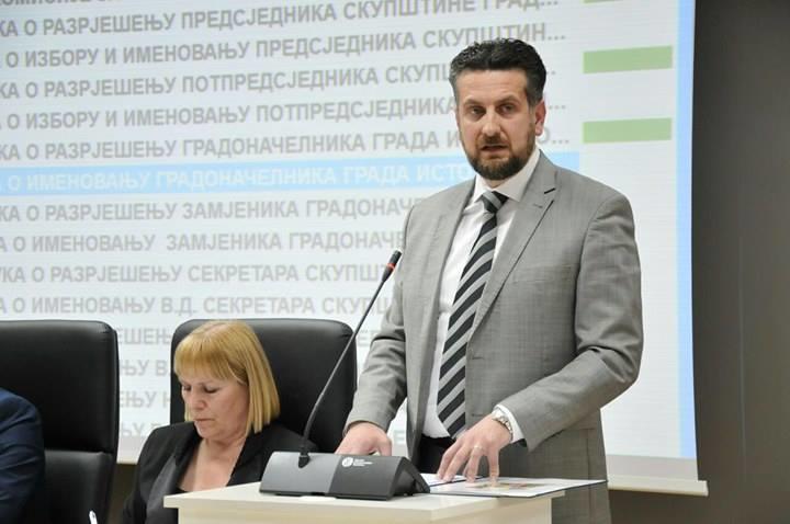Nenad Vuković novi gradonačelnik Istočnog Sarajeva