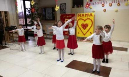 Priredba povodom 8. marta u Osnovnoj školi P.P. Njegoš