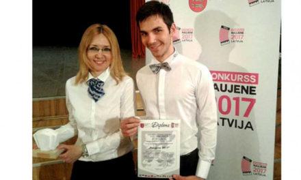 Harmonikaš Aleksa Mirković iz Istočnog Sarajevo na takmičenjima u Letoniji i Srbiji ostvario zapažen uspjeh