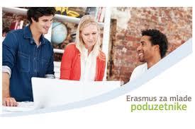 Otvoren poziv Erasmus za mlade preduzetnike