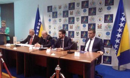 Organizacija olimpijade : Gradovi Sarajevo i Istočno Sarajevo