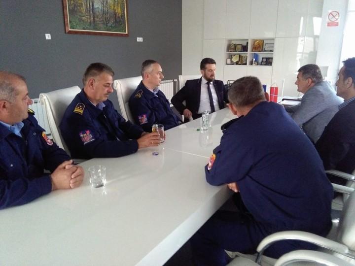 Teritorijalna vatrogasna jedinica Istočno Sarajevo imala rekordno veliki broj uspješnih intervencija.