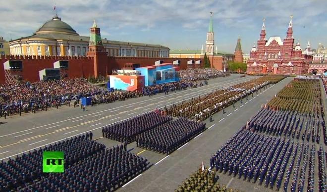 (VIDEO) GENERALNA PROBA PARADE U MOSKVI Hiljade vojnika na Crvenom trgu