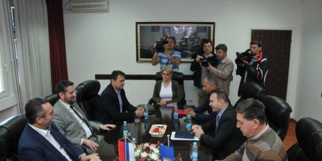 Rukovodstvo Skupštine grada u posjeti opštini Istočno Novo Sarajevo
