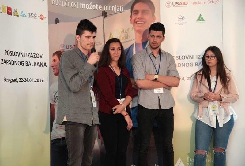 Srednjoškolac Tarik Jašarević, najbolji mladi preduzetnik Balkana