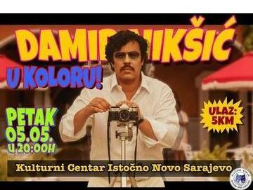Kulturni centar: Damir Nikšić u koloru