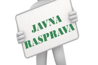 Javna rasprava o nacrtu Statuta i nacrtu Poslovnika o radu Skupštine grada Istočno Sarajevo