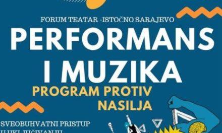 """Performans i muzika"" – u borbi protiv nasilјa 23.05.2017. u Kulturnom centru"