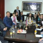 U okviru Spasovdanskih svečanosti načelnik opštine Istočno Novo Sarajevo, Ljubiša Ćosić upriličio je prijem istaknutih pojedinaca i organizacija