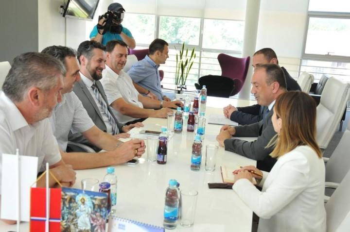 Ministar inostranih poslova BiH u posjeti gradskoj upravi