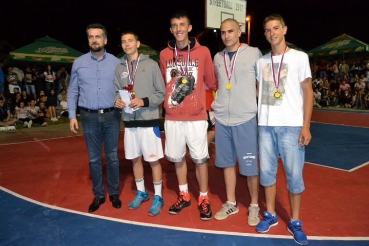 """Pobjednici ovogodišnjeg turnira u uličnom basketu """"Streetball"""" – Pale"""