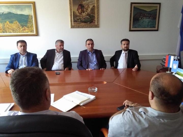 Održan sastanak između predstavnika grada Istočno Sarajevo i opštine Istočna Ilidža