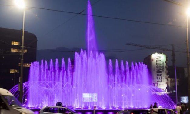 Svečano otvaranje muzičke fontane na Slaviji – Video