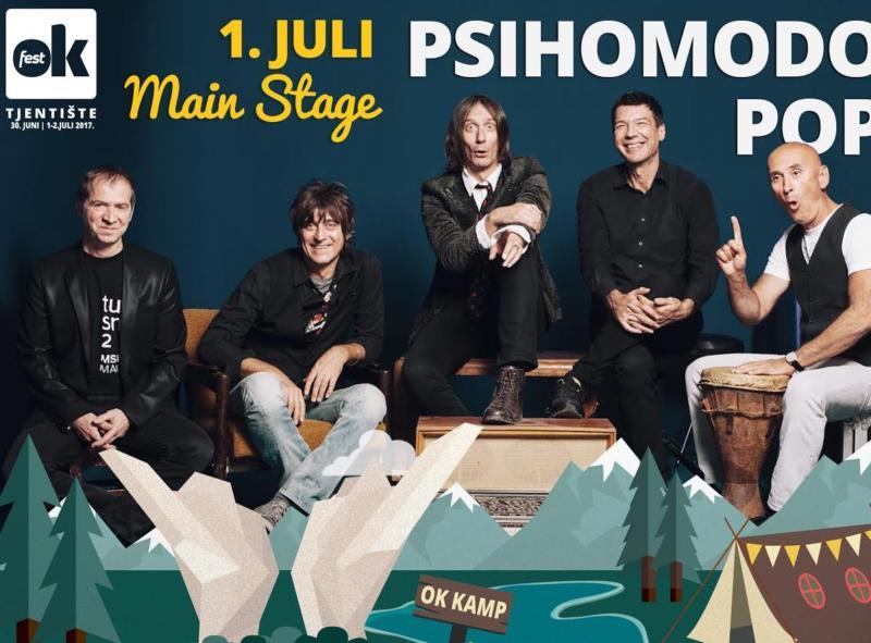 OK Fest: Davor Gobac i Psihomodo Pop 01. jula na Tjentištu – Video